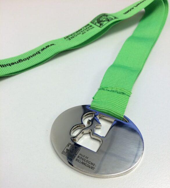 boulogne halfmarathon 2013 medal