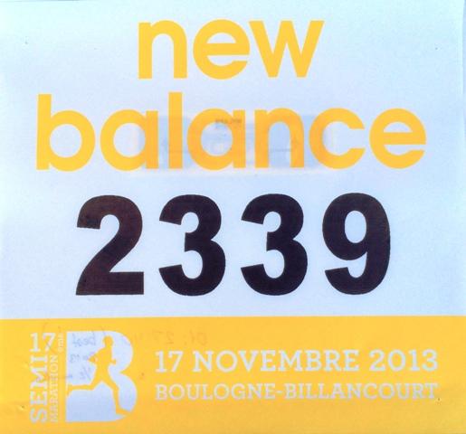 Полумарафон Булонь-Бийанкур (Париж) 2013