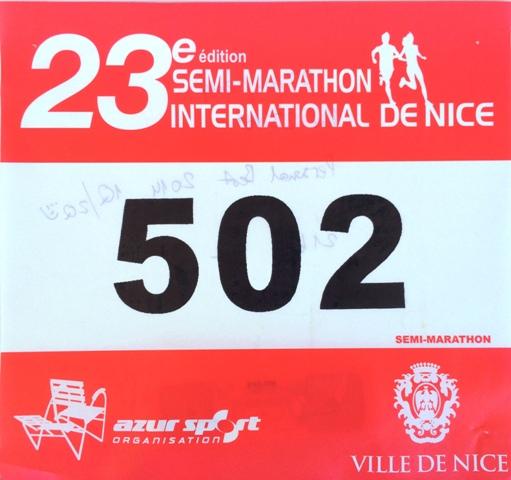 Полумарафон в Ницце 2014