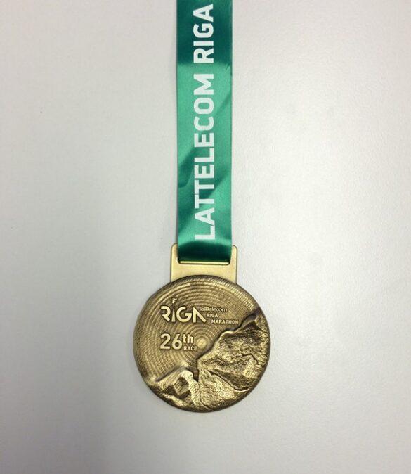 Riga 2016 medal front