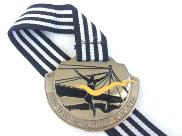kyiv halfmarathon 2013 medal
