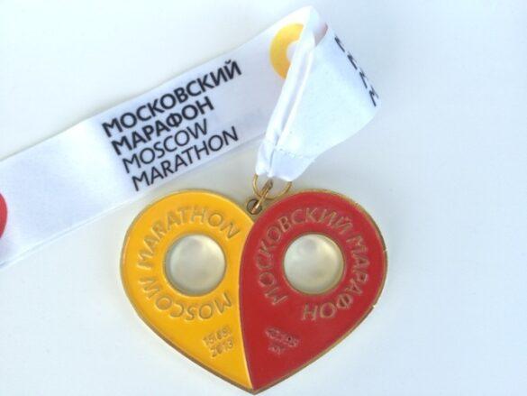 moscow marathon 2013 medal