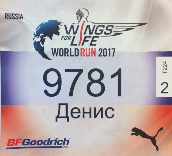 Wings for Life World Run, Kolomna 2017