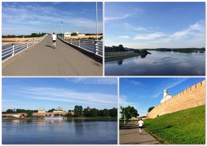 Бегом по Великому Новгороду
