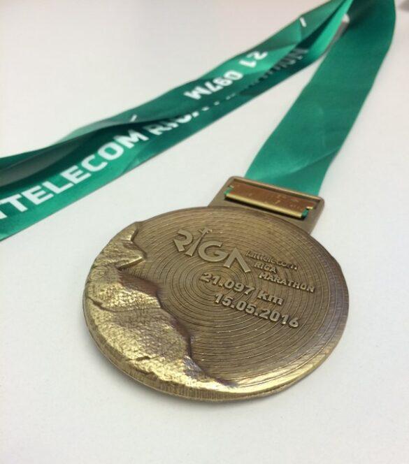 Riga 2016 medal back