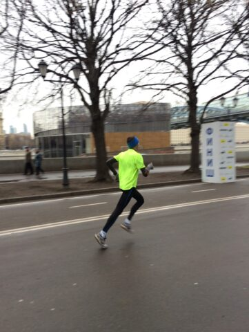 Gorky Park Run Finish