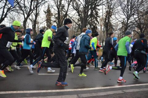Gorky Park Run Start