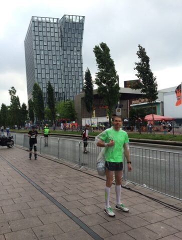 Morning of Hamburg Halfmarathon