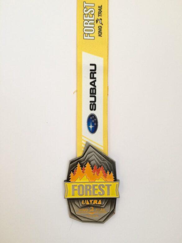 Forest King Ultra 10k medal