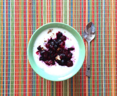 Понедельник: завтрак