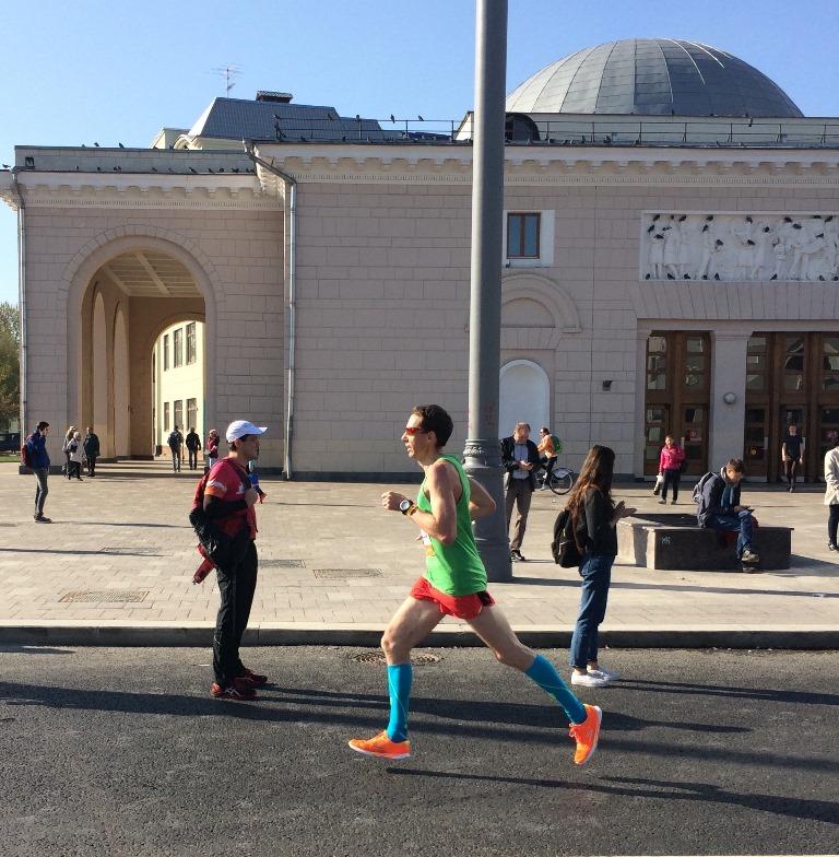 Московский марафон 2017 6й км